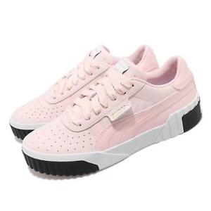 Détails sur Puma Cali Wns Pink Dogwood White Women Fashion Shoes Sneakers 369155 06
