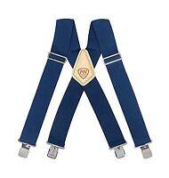 Mcguire-nicholas 112 2-inch Blue Suspenders Free Shipping