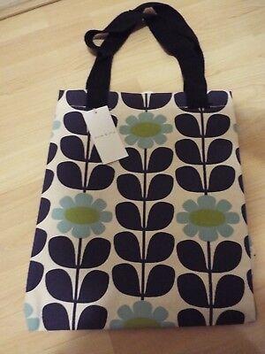 NEW ORLA KIELY FLOWER PRINT JUTE SHOPPING BAG FROM TESCO Limited Design BNWT