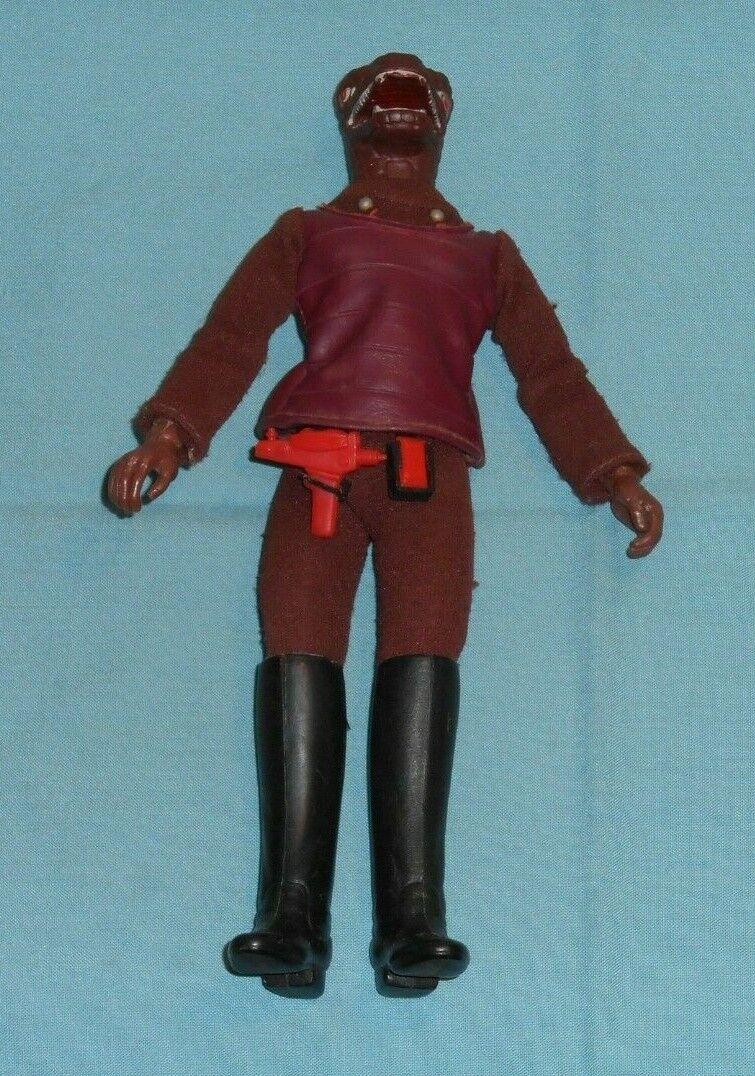 Vintage Mego Star Trek 8  GORN alien with original belt, phaser and comminucator