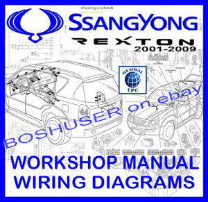 Ssangyong rexton i ii 2001 2009 workshop service repair manual image is loading ssangyong rexton i ii 2001 2009 workshop service fandeluxe Image collections