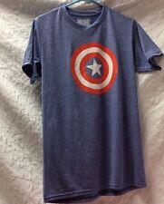 Marvel Capital America Tee Shirt MD 38-40