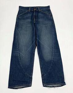 Levis-engineered-653-W31-L32-tg-45-jeans-uomo-usato-blu-relaxed-boyfriend-T6213