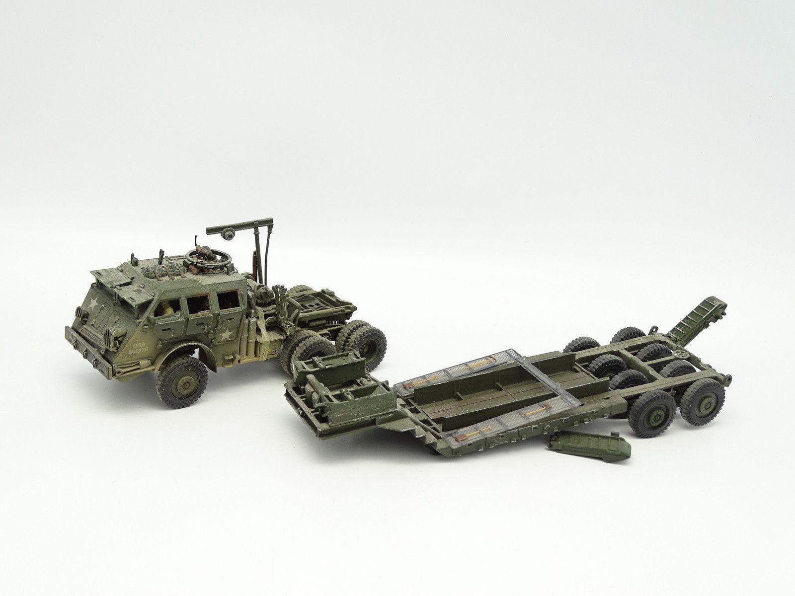 Unimax -einheiten Of Valor Militär Armee 1 72 - Pacific M26 + Anhänger
