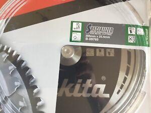4 X Makita B-09765 TCT Metal Circular Saw Blade 305mm x 25.4mm x 60 Teeth NEW