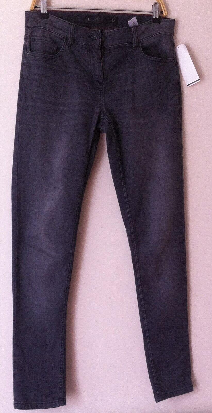 Next BNWT grau grau grau Skinny Stretch Jeans Größe 10 - 12 Long | Ab dem neuesten Modell  | Kompletter Spezifikationsbereich  | Deutschland Frankfurt  | Perfekte Verarbeitung  | Fein Verarbeitet  ad41cf