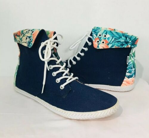 Tomy Takkies High Tops Shoes Size 8 Women's Canvas