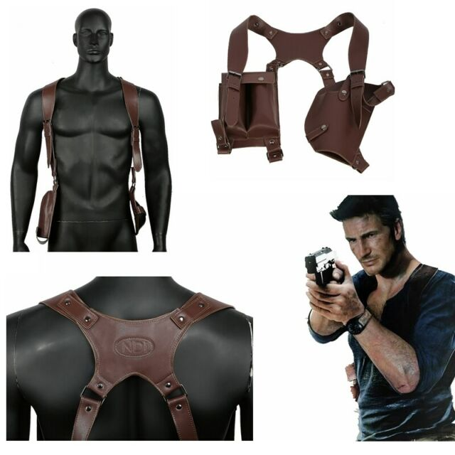 Uncharted A Thief S End Cosplay Shoulder Holster Costume Pu
