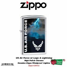 Zippo US Air Force w/Air Force Logo, USA Genuine Windproof Lighter #28932
