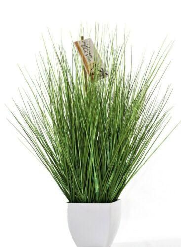 Decorative Grass Artificial Grass Bush Ornamental Grass Artificial Plant Green Beach Grass in Planter