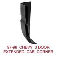 97 98 Chevy 3 Door Right Cab Corner, Gmc Truck, 1.2mm Thick 900-55ar