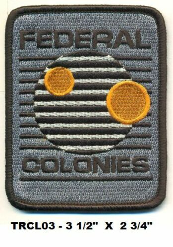 FED COLONIES PATCH TOTAL RECALL TRCL03