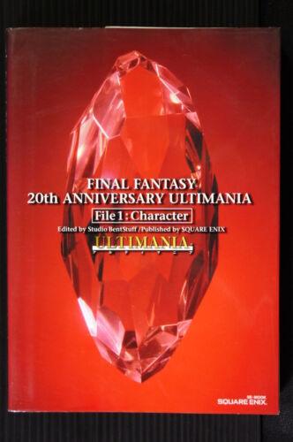 JAPAN Final Fantasy 20th Anniversary Ultimania File 1 Character