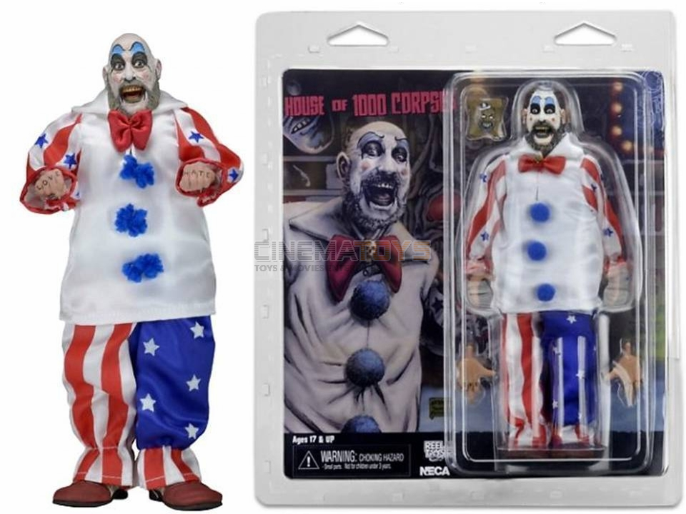 Sid Haig Captain Spaulding Rob Zombie Movie House Of  1000 Corpses Action Figure  meilleure qualité