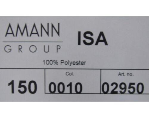 10.000m von Amann weiß Unterfaden 150er