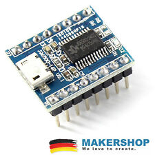JQ6500 Voice Sound USB 16 MBit Modul MP3 Arduino Raspberry Pi