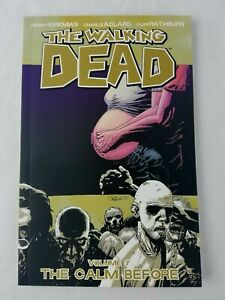 The-Walking-Dead-Vol-7-The-Calm-Before-Image-Softcover-Graphic-Novel-Comic
