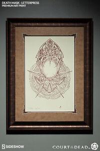 Death-Mask-Letterpress-Maske-Court-of-the-Dead-Fine-Art-Print-Framed-Sideshow