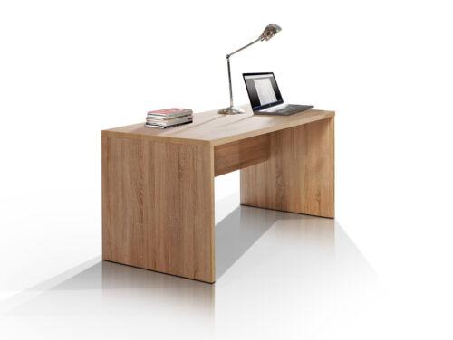 CAMILLO Schreibtisch B160cm Computertisch Bürotisch Tisch Büro Dekor Eiche hell