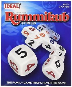 Idéal Rummikub X-Press Dice Game 							 							</span>
