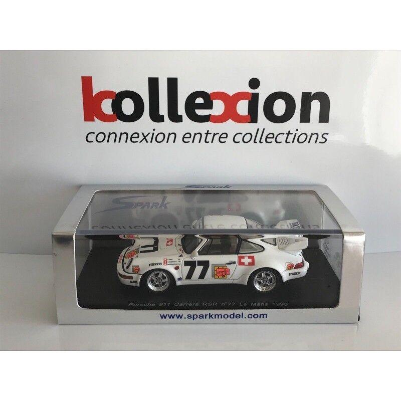 Porsche 911 carrera rsr nº 77 le mans 1993