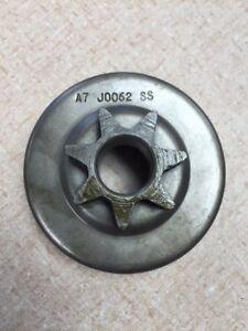 """CARLTON SPUR SPROCKET  3/8"""" 7T 50525 / A7JO062SS.  Husqvarna / Jonsered"""