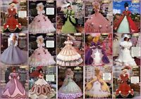 Crochet Doll Costume Pattern Ladies Of Fashion Needlecraft Shop Fits Barbie Upic