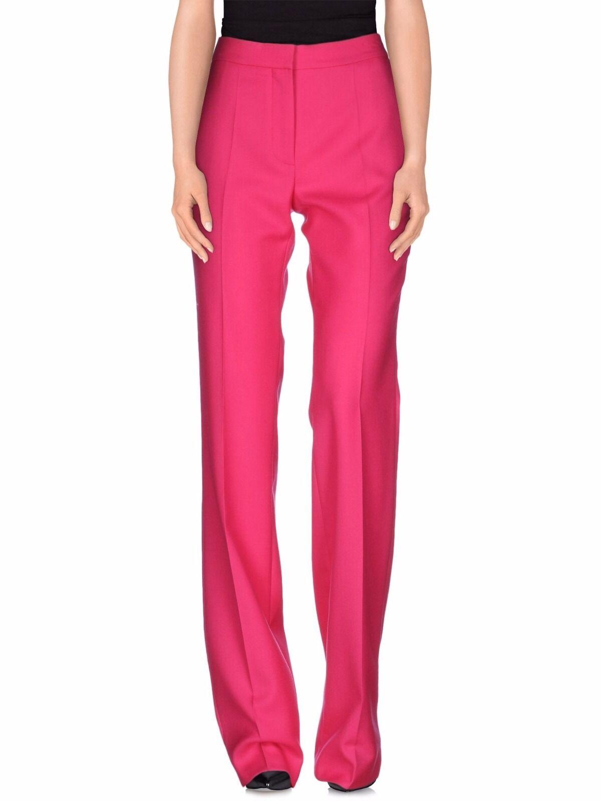 Stella McCartney fuchsia crepe pants US size 2