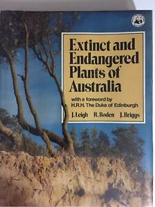 Extinct-and-Endangered-Plants-of-Australia-by-R-Boden-J-Leigh-HB-DJ-1984