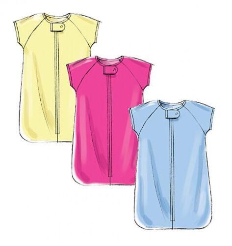 Butterick Baby facile Sewing Pattern 6238 Giacca Bandierine. pantaloni Salopette
