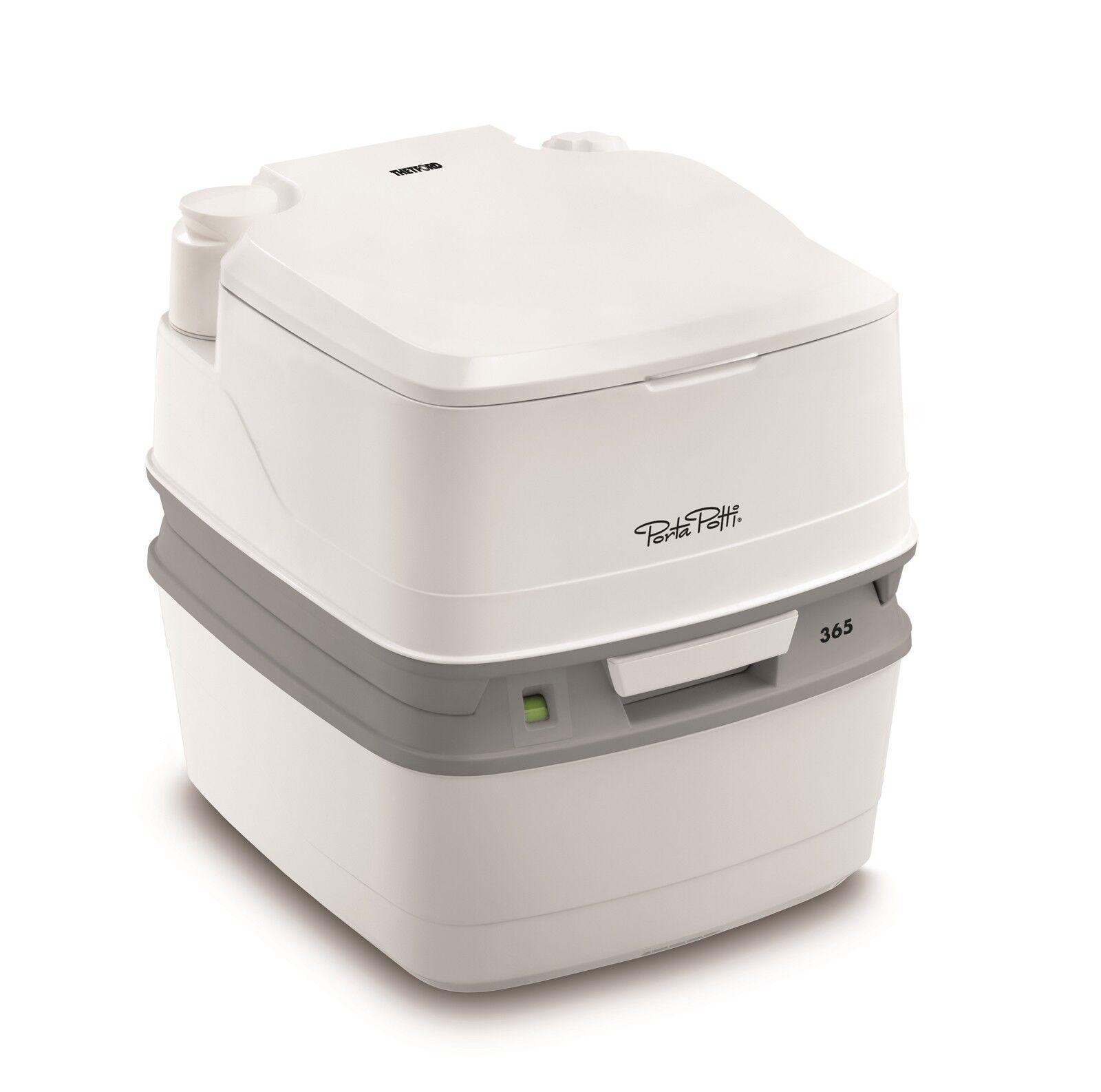 Thetford Porta Potti 365 Qube White Toilet Wc Camping Chemical Mobile
