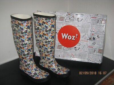 separation shoes 15cc0 7a907 Stiefel Gummistiefel bunt Fsailrainbootw von Woz Schuhe Gr, 36 Neu OVP Top  Preis | eBay