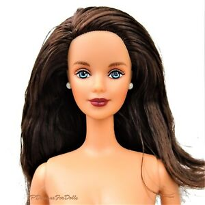 cheaper c517a fa216 Details about Ralph Lauren Barbie Doll Bloomingdales Brunette Nude New out  of Box 1996
