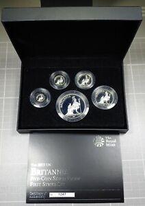 2013-Britannia-Proof-Silver-1-1-2-1-4-1-10-1-20-oz-5-Coin-Set