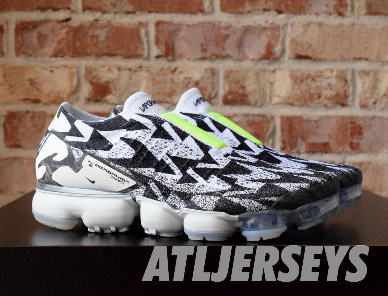 Acronym Nike Air Vapormax Moc 2 Light Bone White Black AQ0996-001 Size 3-15