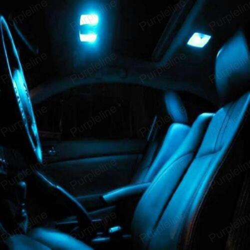 TOOL 12 x Ice Blue Interior LED Lights Package For 2010-2016 Hyundai Tucson