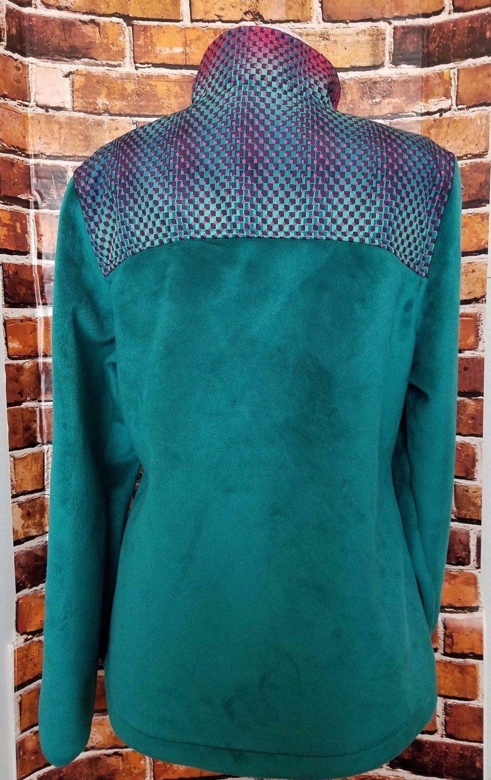Fila Sport Womens Medium Zip up Fleece Track Jack… - image 7