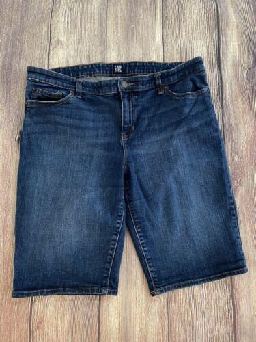 GAP Denim Shorts Dark Wash Size 32