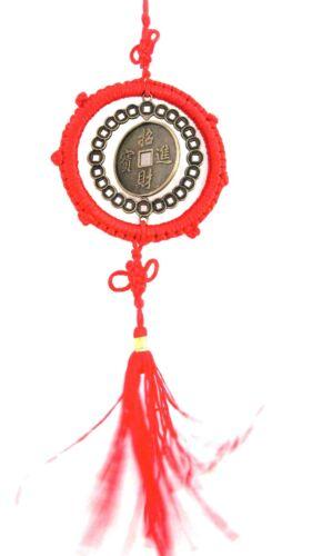 Münzen Feng Shui Drachen Phönix Glücksbringer Anhänger AAA 2 Stück bekommen Sie!