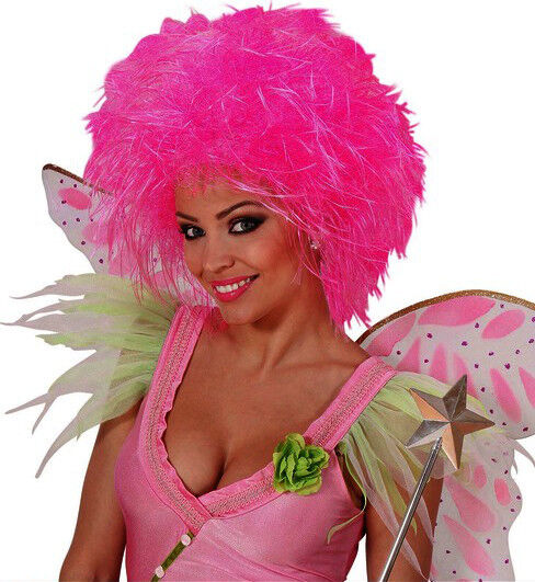 Ladies White Pompadour Beehive Wig Ugly Sister Pantomime Dame Fancy Dress