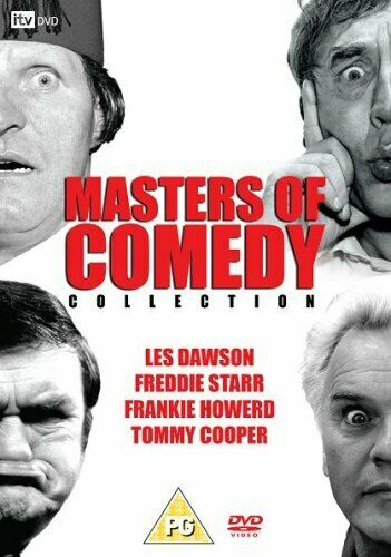 Masters Of Comedy Collection DVD (2007) Les Dawson