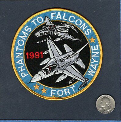 131st TFW F-4 PHANTOM ST LOUIS MO ANG USAF McDonnell Fighter Squadron Patch