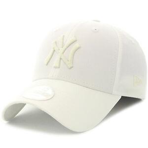 NEW ERA WOMENS 9FORTY BASEBALL CAP.NEW YORK YANKEES SPORT WHITE ... 99b3d102b1