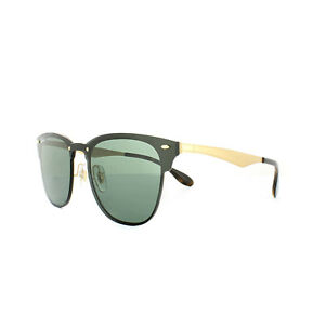 02795609381bf Image is loading Ray-Ban-Sunglasses-Blaze-Clubmaster-3576N-043-71-