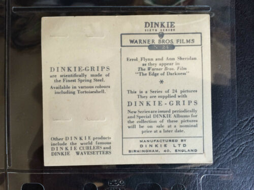 FILMS 6TH SERIES 1949 DINKIE-GRIPS WARNER BROS G *PICK THE CARDS YOU NEED*