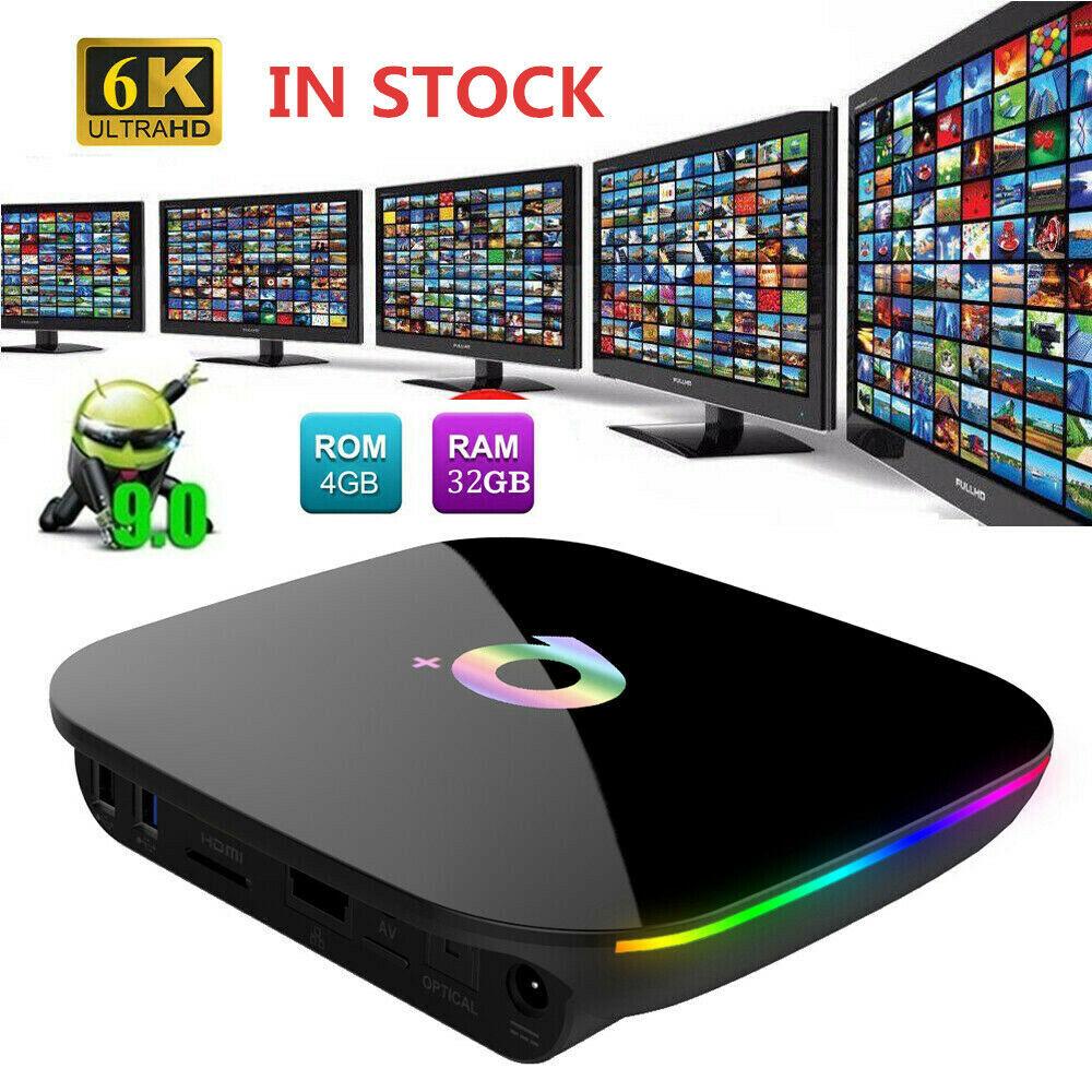 Q Plus Smart TV Box Android 9.0 H6 4GB / 32GB 6K Media Player WiFi Set Top Box 32gb 4gb android box media player plus set smart wifi
