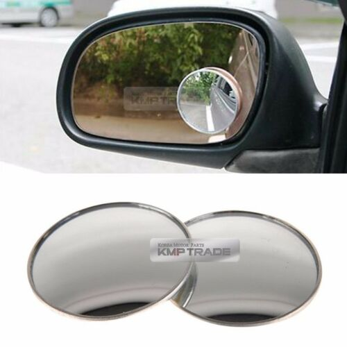Door Mirror Side View Blind Spot Circle Lens Angle 50.8mm 2ea for All Vehicle