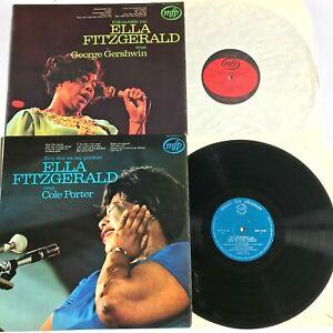 ELLA-FITZGERALD-Sings-COLE-PORTER-GEORGE-GERSWIN-2-x-Vinyl-LP-Albums