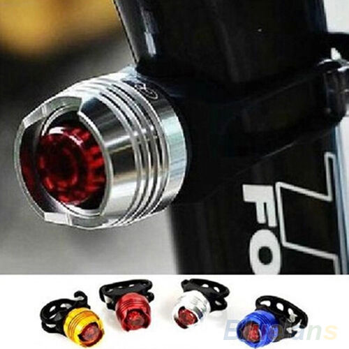 WONDERFUL TRENDY BIKE BICYCLE HELMET RED LED REAR LIGHT 3 MODES SAFETY TAIL LAMP