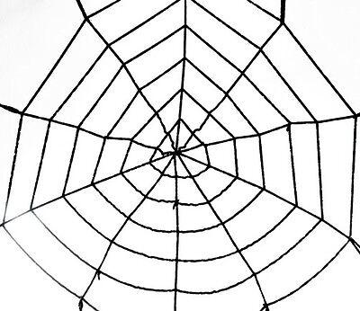150cm Großes Spinnennetz Spinne Halloween Deko Horror spider Halloweendeko